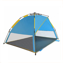 GBKH-258 Groothandel camping strand tent zon <span class=keywords><strong>onderdak</strong></span>, <span class=keywords><strong>opvouwbare</strong></span> familie tent, waterdichte strand tent