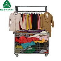Bundle Used Clothing Worsted Coat Winter Second Hand Clothing Korea