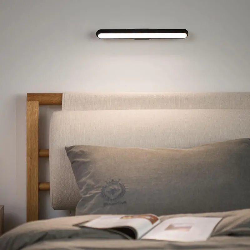 LED Wall Litgh USB Rechargeable Hanging Magnetic Dormitory Reading Lamp