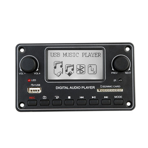 Professional Digital Display MP3 Module Bluetooth USB SD MP3 Player Decoder Board Dot Matrix LCD