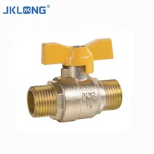 Kuningan Mini Ball Valve F/M Bola Katup <span class=keywords><strong>Kupu-kupu</strong></span> Handle <span class=keywords><strong>Stainless</strong></span>