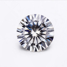 Def 컬러 0.4ct 합성 돌 직경 4mm <span class=keywords><strong>moissanite</strong></span> 스톤 링 귀걸이