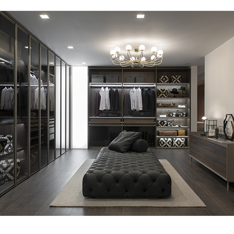 Open Modern Wardrobe Bedroom Furniture Customized Portable <strong>Design</strong>