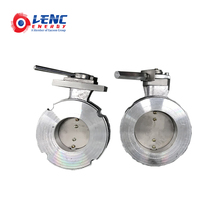 <span class=keywords><strong>Bagian</strong></span> <span class=keywords><strong>Industri</strong></span> Dn100 Pn16 Butterfly Valve untuk Gas Alam