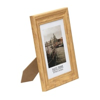 High Quality Custom Many Size 5X7 Inch Wood Grain Wood Material Photo Picture Frame