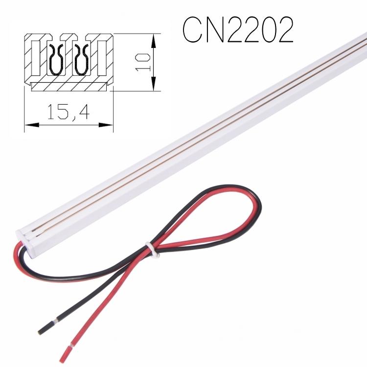 2-wire 12V24V36VLED DC Power Track System for Shop Shleves Display Light Retail Fixture LED strip exhibition cabinet light box