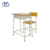 Boutique Adjustable Single Person Factory Outlet School Steel And Mdf Mixed Row Hall Lecture Room Chairs