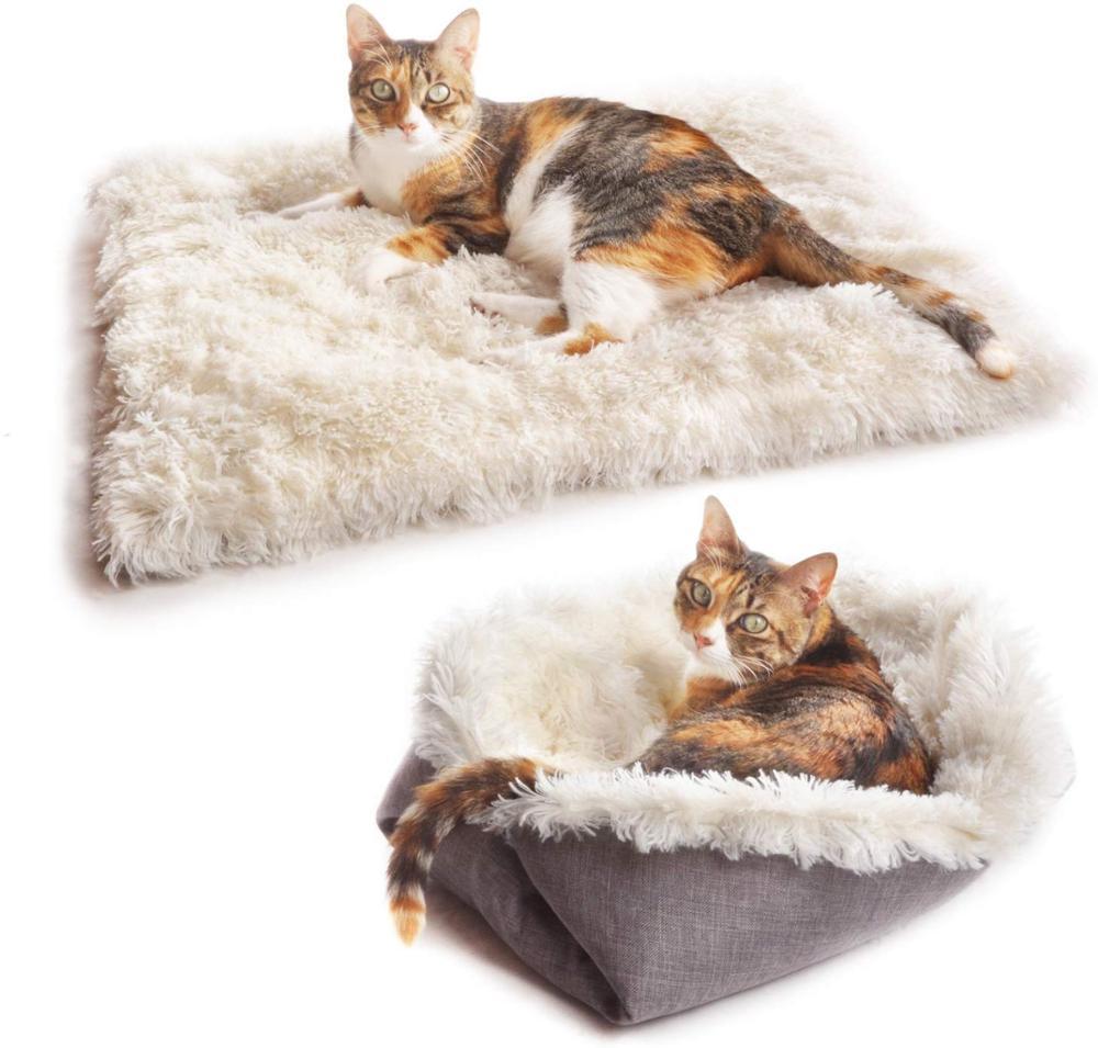 Ningbao Colgando Caliente Gato Estera de la Cama Gato Suave Hamaca de Invierno Hamaca para Mascotas Gatito Jaula Cubierta de Cama Coj/ín Cama de Aire Productos para Mascotas