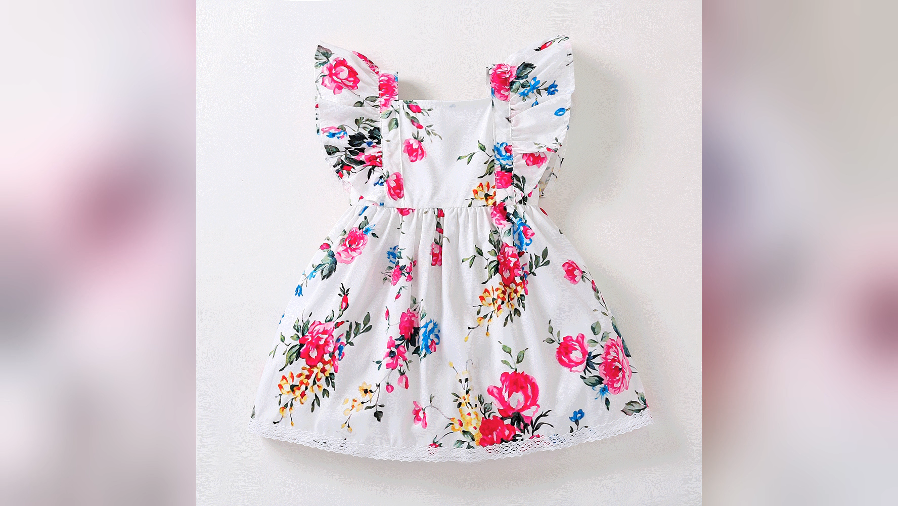 Wholesale Factory Cotton Sweet Baby Toddler Girl Dress Quality Casual Dress