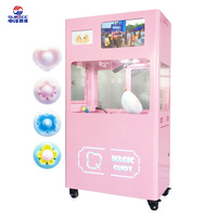 Intelligent vending cotton candy machine with 11 types automatic making cotton candy machine