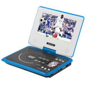 7.8inch Portable DVD player with screen usb sd mmc av in/out earphone dc12v game tv
