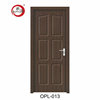 China Product High Quality Interior MDF Wood Door For House And Hotel With PVC Skin