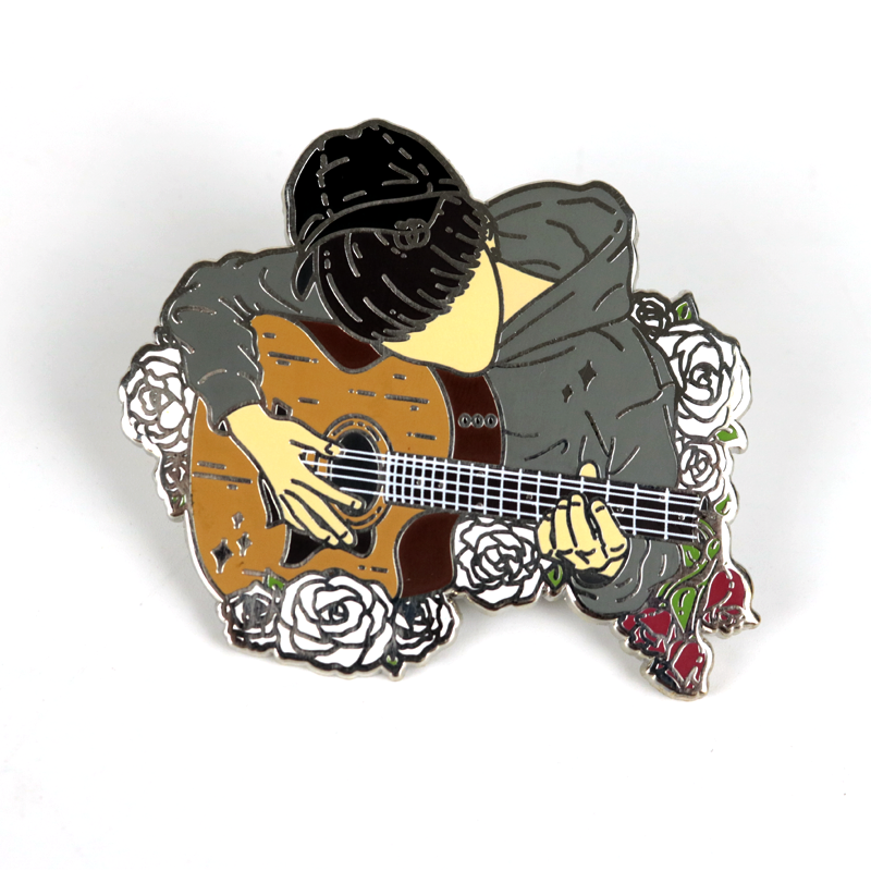 Personalized Wholesale Factory Manufacturer Recycled Custom Made Metal Pins Hard Enamel Pin Lapel Pin