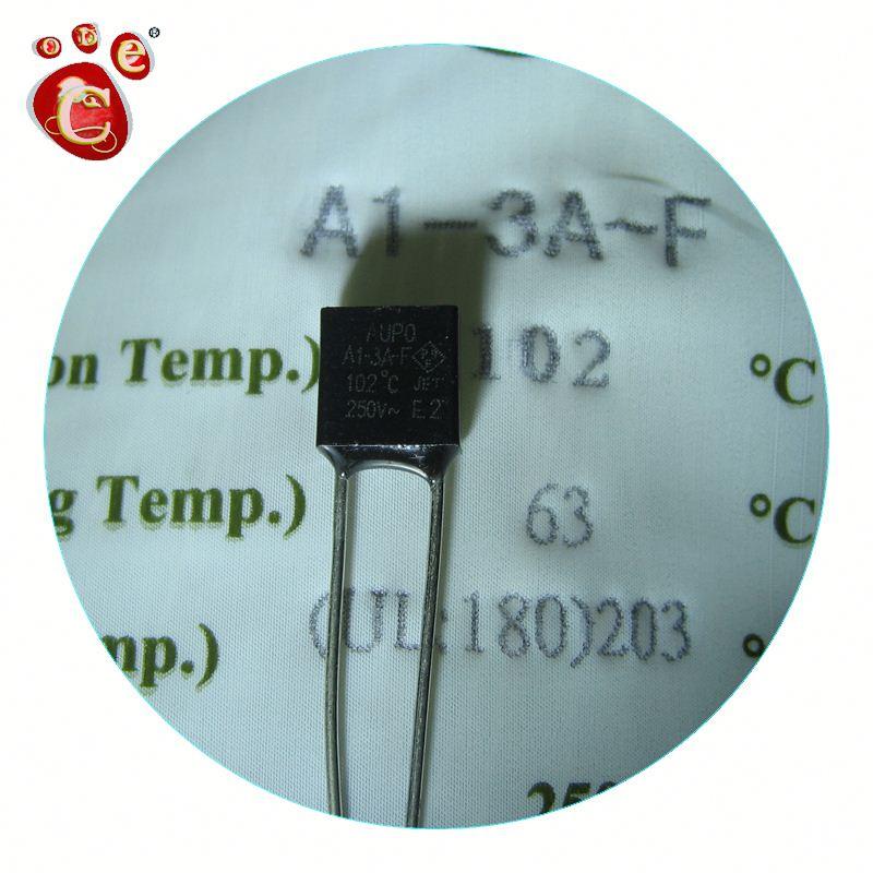 10 pcs A16-5A-F 160°C  AUPO Micro-Temperatursicherung radial  160°C  5A NEW #BP