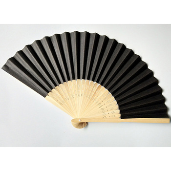 Cheap Give Awaybamboo Attractive Customized Artwork Feature Folk Art 2020 New Antique Anime Adorable Abanico 21cm Hand Fan