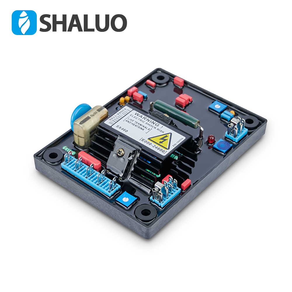 SHALUO Generator Spare Parts automatic Voltage Regulator AVR SX460 Circuit Diagram board Stabilizer