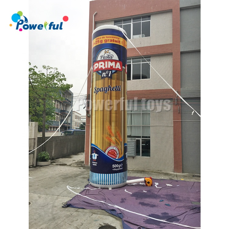 Customized  Outdoor Decoration Inflatable Food  Model For Advertising