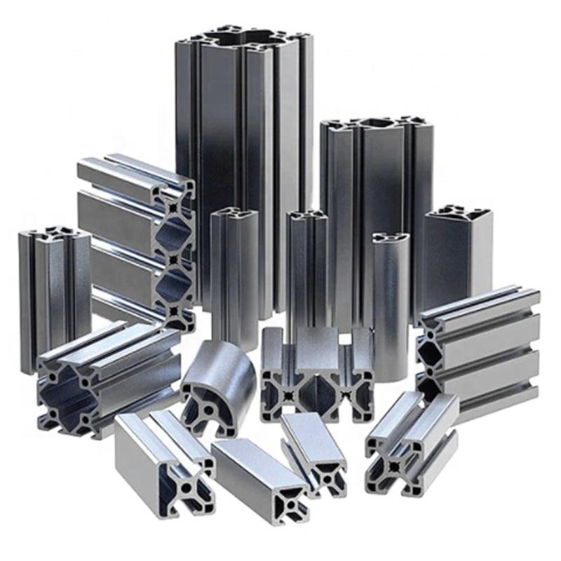 aluminum window extrusion profile,1 Meter, Silver,black,blue,customized