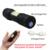 Adjustable Light Beam 230 Lumens Cob Led Rechargeable Tactical Flashlight