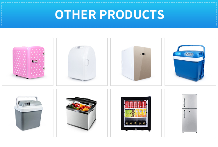 Popular DC 12V 24V AC 110V 220V small beauty and cosmetics fridge portable hotel mini bar glass door fridge
