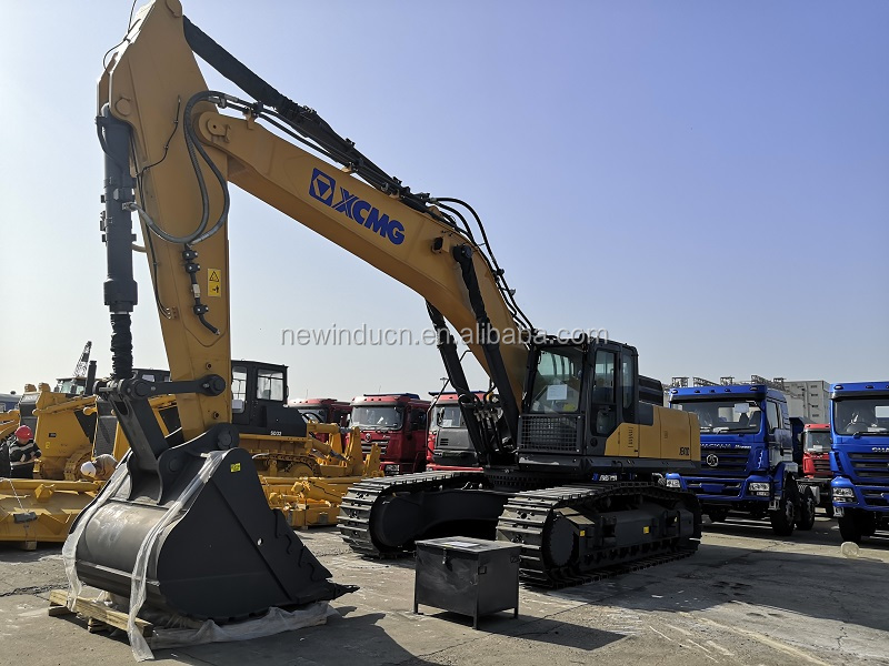 Heavy Crawler Excavator 47 Ton Hydraulic Digger 2.5cbm Bucket for Construction Mining XE470D