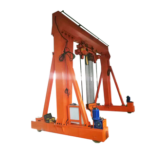 4 Wheels 5 Ton Mini Portable Mobile Gantry Crane Price