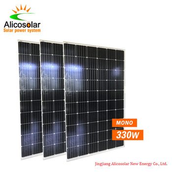 Class A Jinko Solar mono 72 cells Module 350W 24V Solar Panel 350W 36V For Korea Market