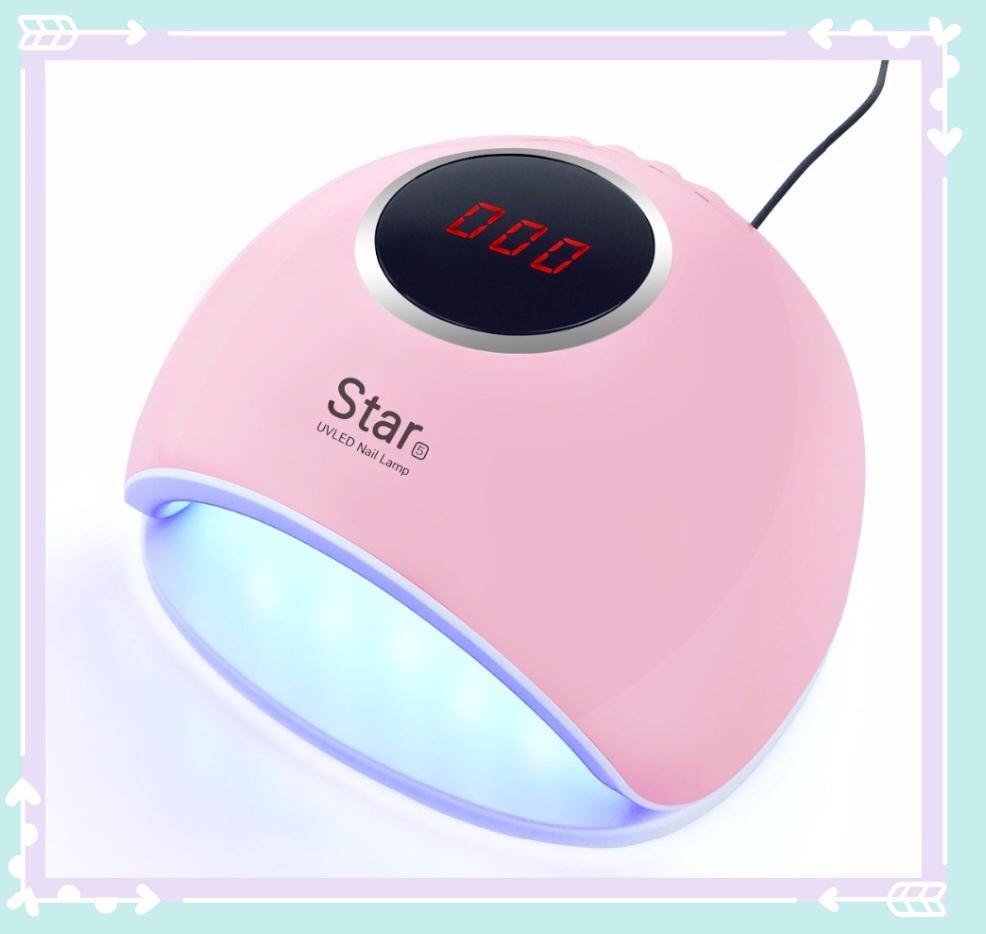 Specially diamond designed shape Nail Dryer LED UV Lamp 36W for UV LED Gel Nails Polish Nail Art Tools