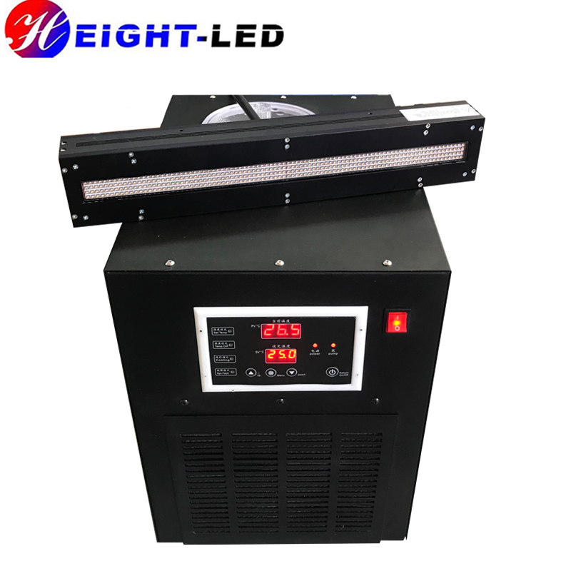 Wholesale water cooled 365nm uv led curing lamps 395nm uv dryer customized ultraviolet lights coating for screen printing