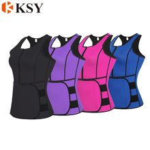 Private Label women girdle body shapers เอว trimmer vest
