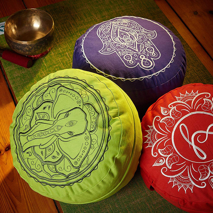 Buti custom wholesale square zabuton zafu yoga meditation cushion set