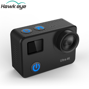High-tech breakthrough nightshot 4K 50FPS action camera support wifi and remote control mini digital cam with 40M waterproof.