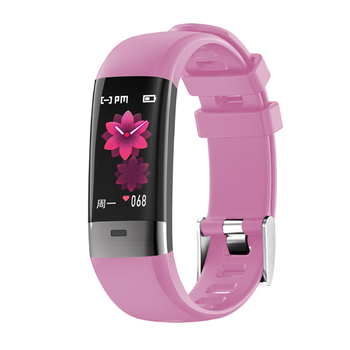 ODM Colorful Touch Screen ECG Heart Rate Monitor Blood Pressure bracelet watch for sport