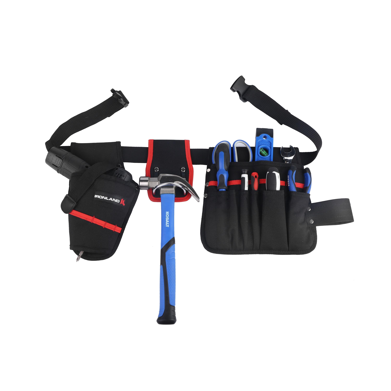 Durable 600d espesamiento Material Oxford llevar herramienta bolsas portátil impermeable cinturón de la herramienta de cintura