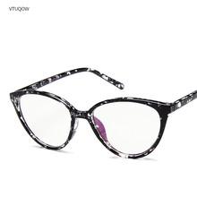 Винтажные Женские оправы для очков кошачий глаз 2020, фирменный дизайн, прозрачные линзы, оправа для очков для женщин, очки для женщин, оправа ...(Китай)