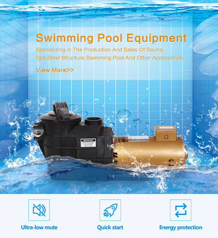 1HP 1.5HP 2.0HP 2HP 2.5HP 3.0HP Variable Speed Electric Pool Pumps Swimming Pool Water