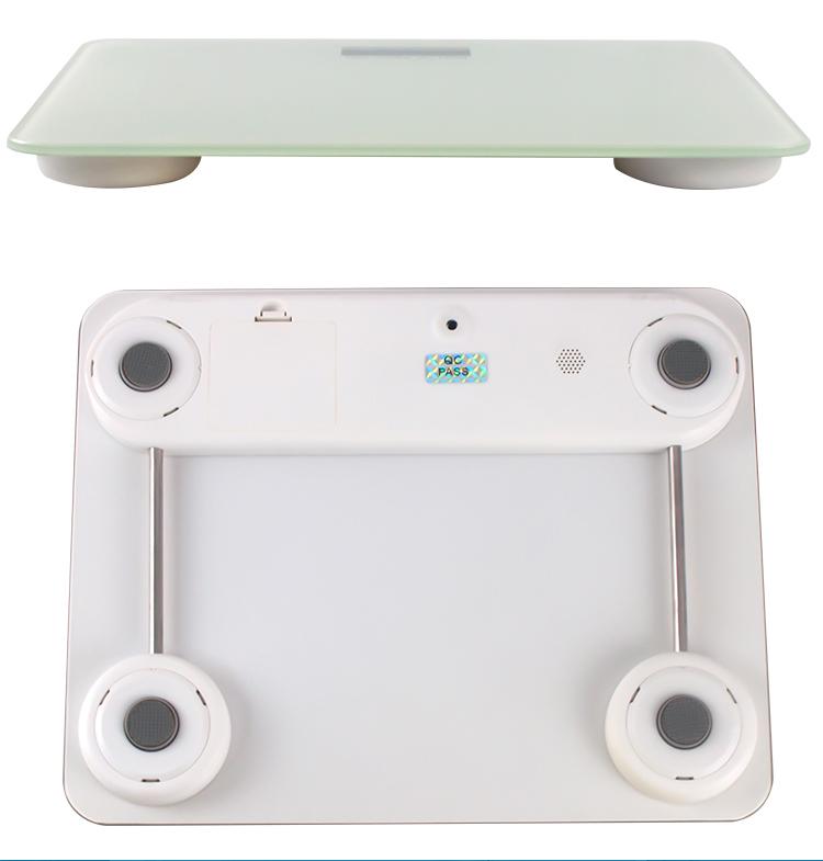 Высокое Качество Электронный вес тела Lcd HD дисплей утолщенное закаленное стекло персональные 200 кг цифровые весы для ванной комнаты