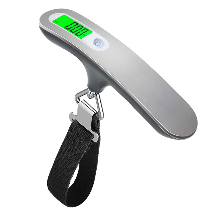 2020 Hot Stainless Steel Weighing Travel 50kg Baggage Portable Digital Luggage Scale
