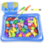 Kid Simulation Fishing Rods Plastic Summer Beach Magnetic Fishing Toy For Children