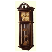 good quality old grandfather pendulum clock mechanism wood wall clock