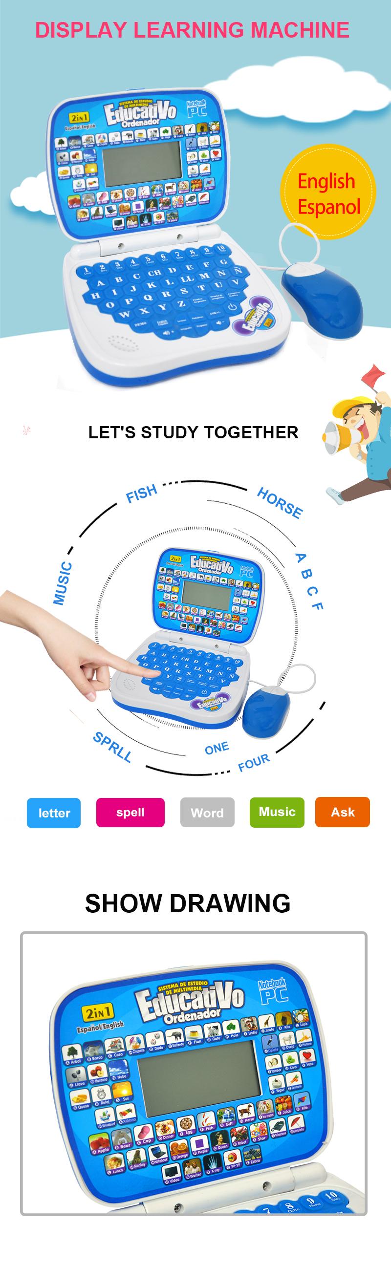 Learn-to-read-touchscreen Smart Oem Thai Spanisch Englisch