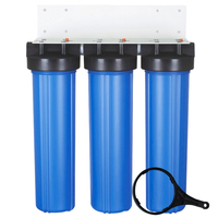"sediment pre filter housing 3 stage 20"" big blue water filter housing"