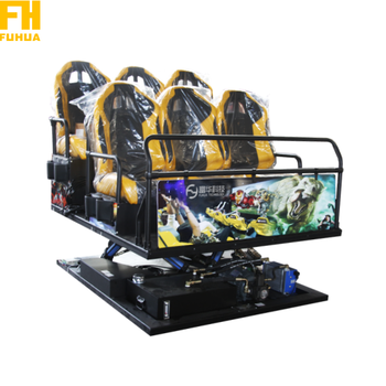 Earn Money Virtual Reality Amusement Park Equipment Cinema 7D Simulator 7D Cinema Virtual Reality Chair 7D Cinema Equipment