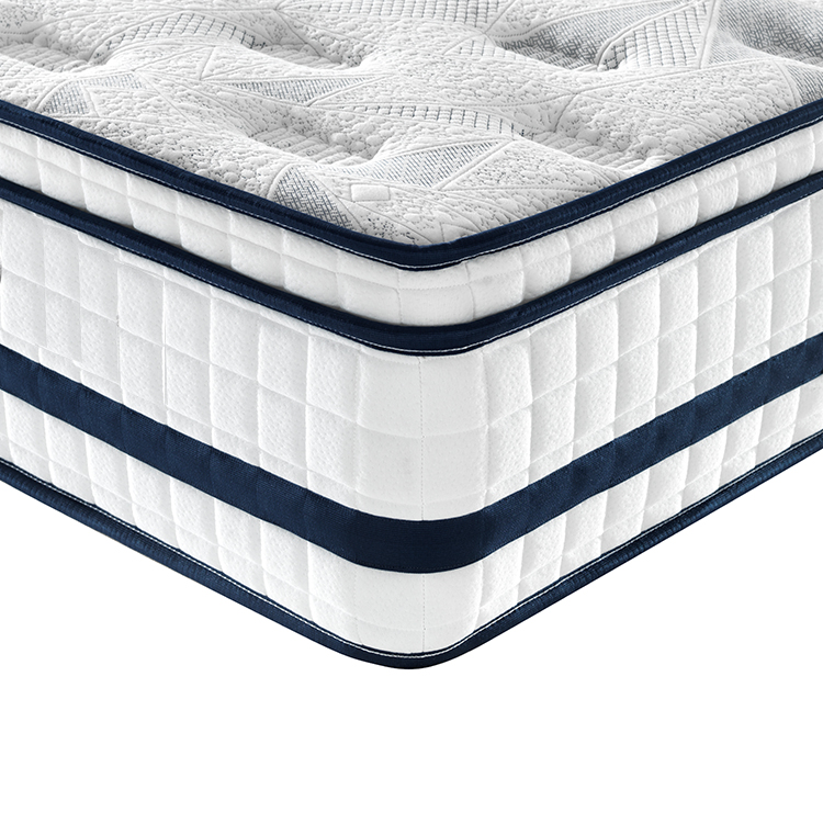 Europe top 31cm luxury memory foam American standard mattress