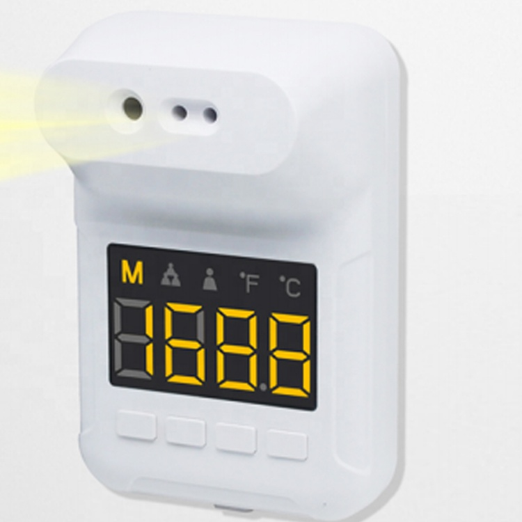 Wholesale Price Automatic Scan Wall Mounted Thermometer with Digital Counter
