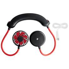 Портативный вентилятор для шеи, Многофункциональный USB-вентилятор для зарядки с увлажнителем, подвесным кулером для шеи без рук, кондиционе...(Китай)