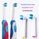 HONGLONG HL-118A Good Quality Electrical Toothbrush Replacement Heads Teeth Brush Head Changeable