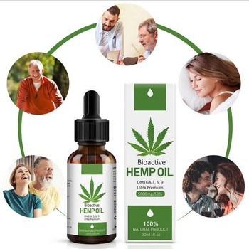 Hemp Oil for pain relief 5000 MG Extract for Pain, Anxiety & Stress Relief- Helps with Sleep, Skin & Hair