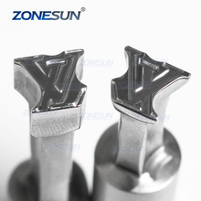 ZONESUN Logo Custom Candy Milk Tablet Press Die Stamp Punch and Die Mold Sugar Pill Tablet Press Tool Tdp 0/1.5/3