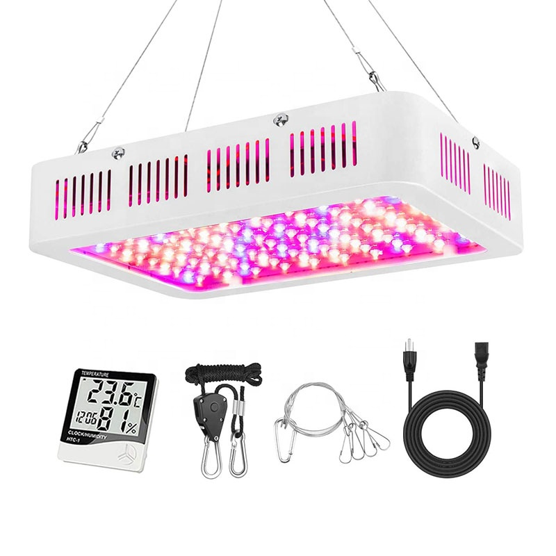 Double Switch IR&UV Dimmable Full Spectrum 1000W 1200W Greenhouse Led Grow Light